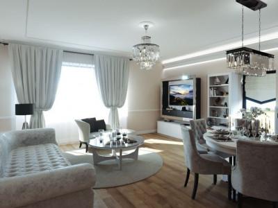 Apartament generos cu 4 camere cartierul Francez