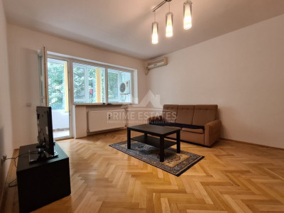 For rent apartment renovated 2 bedrooms Domenii area - parking in the garage