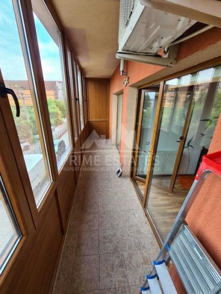 De inchiriat 2 camere in bloc nou, access rapid metrou Straulesti