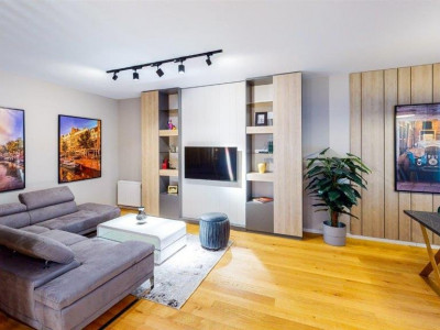 Apartament 3 camere cu gradina zona Aviatiei LUX vanzare/inchiriere